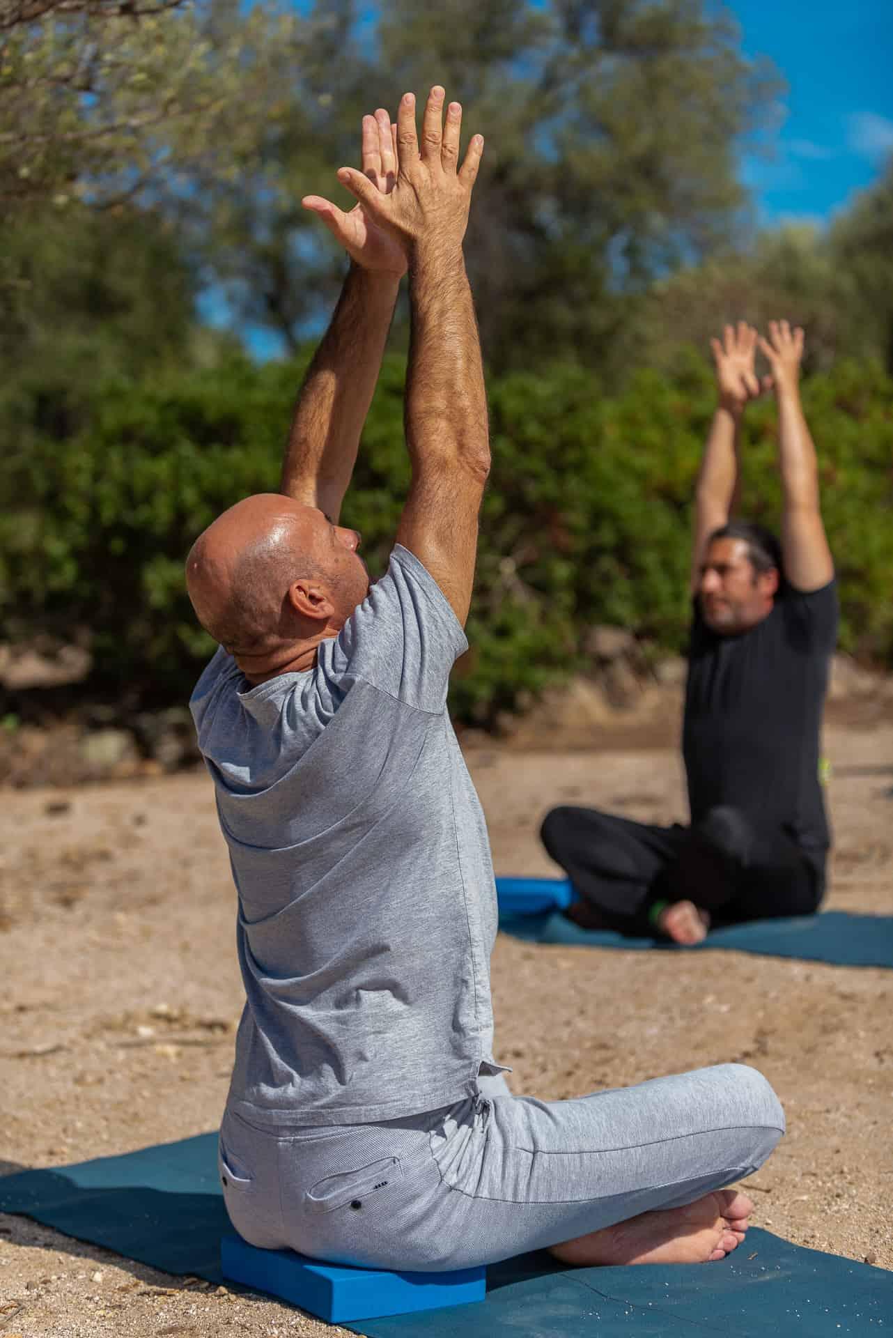 yoga digital detox sardegna logout livenow